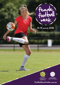 13116_FOOTBALL_International Womens Day_A3 Poster