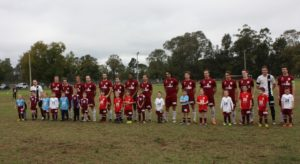 1st Grade and Under 6 Strikers 2016